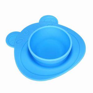 ASSIETTE - PLATEAU BÉBÉ Enfants One Piece plaque silicone napperon vaissel