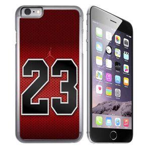 coque iphone 8 jordan rouge