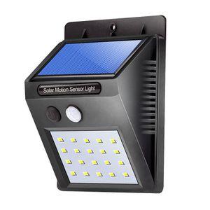 APPLIQUE EXTÉRIEURE Solar Powered etanche 20LEDs Lampe Exterieure Sola