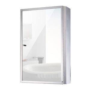 miroir salle de bain 40 cm achat vente miroir salle de. Black Bedroom Furniture Sets. Home Design Ideas