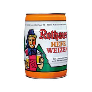 BIÈRE fut de bière Rothaus Hefeweizen 5 L 5.4 vol%