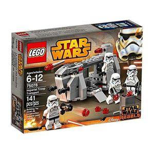 ASSEMBLAGE CONSTRUCTION Lego Star Wars  - Transport De L'armée Impériale