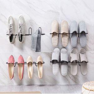MEUBLE À CHAUSSURES Étagère de Rangement Mural Range-Chaussures Suppor