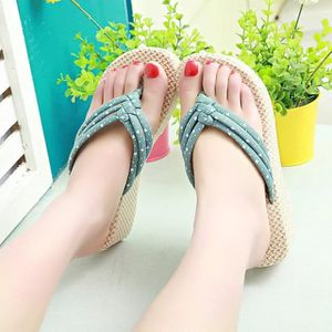 MULE Pincements Tongs Platform Shoes Sandales Summer Ho