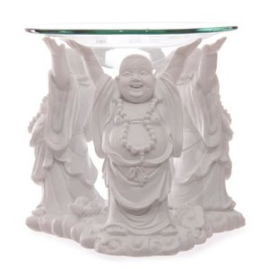 DIFFUSEUR DE PARFUM Brûleur à l'huile de bouddha chinois décoratif ave