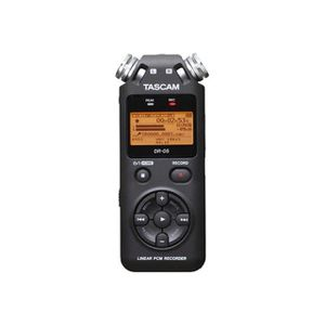 DICTAPHONE - MAGNETO. Tascam DR-05 Dictaphone Argent
