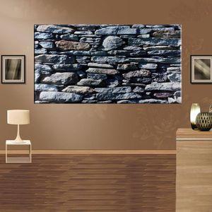 papier peint pierre achat vente pas cher. Black Bedroom Furniture Sets. Home Design Ideas