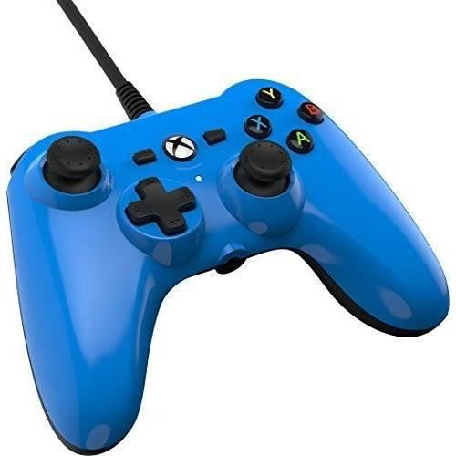 POWER A Mini Manette - Filaire - Cool Blue - Xbox One