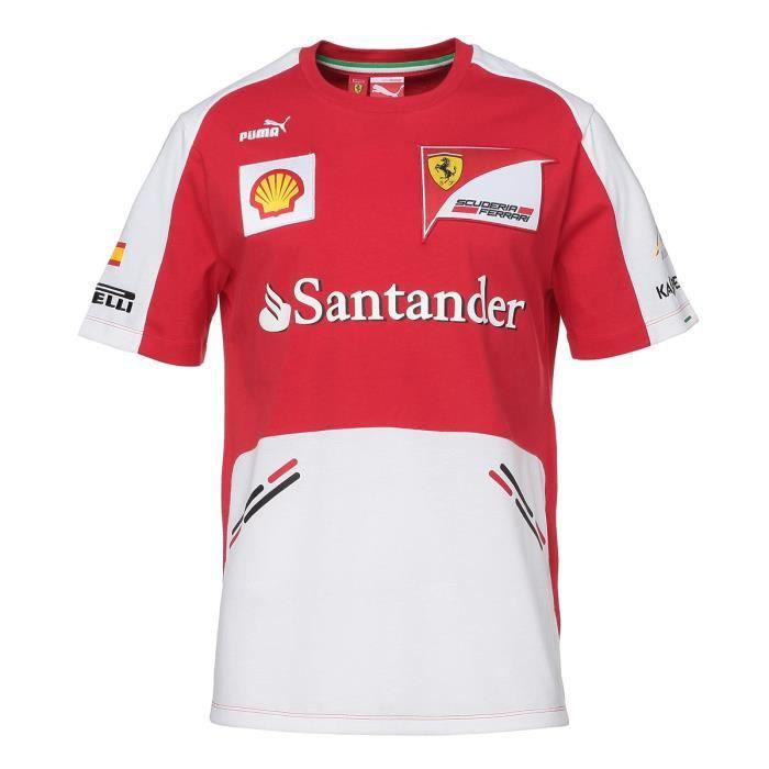 PUMA T-shirt Manches Courtes Ferrari Homme