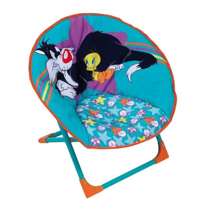 LOONEY TUNE Siège Lune fauteuil enfant