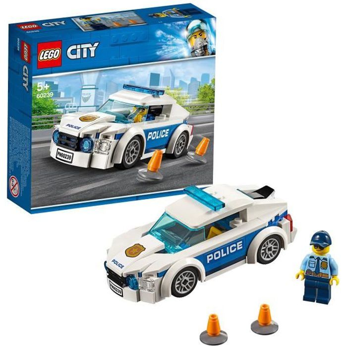 LEGO City 60239 La voiture de patrouille de la police