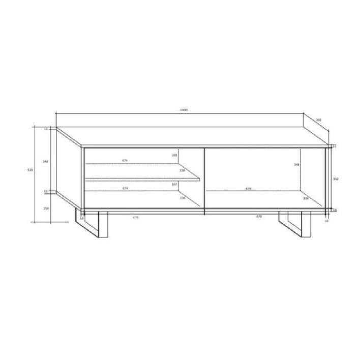 meuble tv design noir avec led 140 cm Résultat Supérieur 50 Frais Meuble Tv Design Noir Image 2018 Kjs7