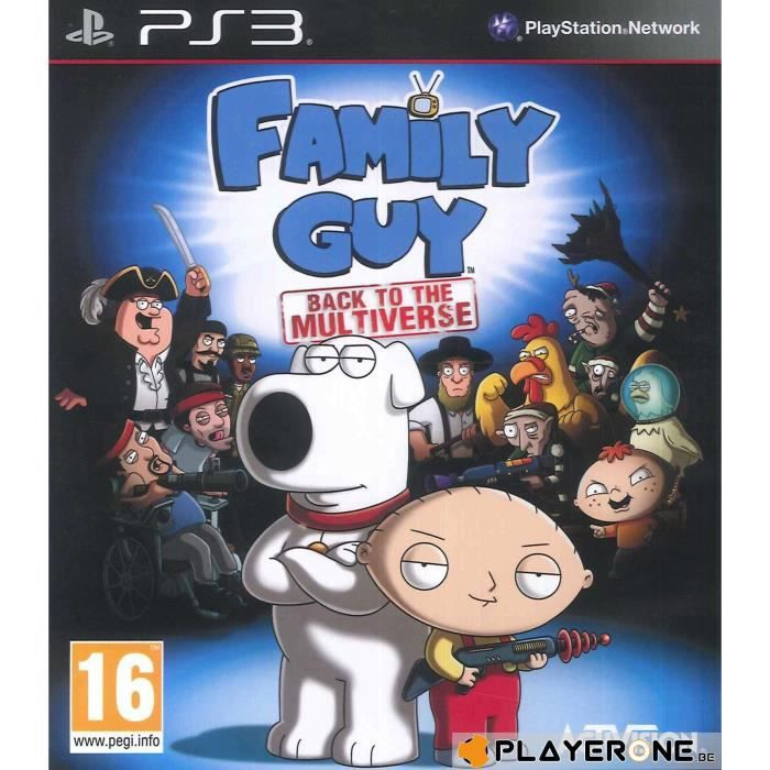 JEU PS3 Family Guy : Back to the Multiverse ( UK Only ) :