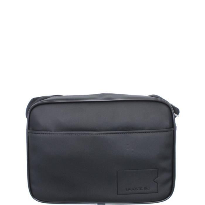 Besace Noir Black Vente Ref Achat Airline cem36443 Lacoste Bag LGjSMpzVqU