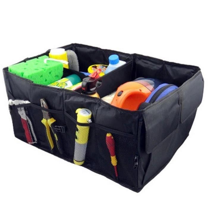 sac bo te de rangement pliable pour outils voiture voyage transport 3 compartiments grand noir. Black Bedroom Furniture Sets. Home Design Ideas