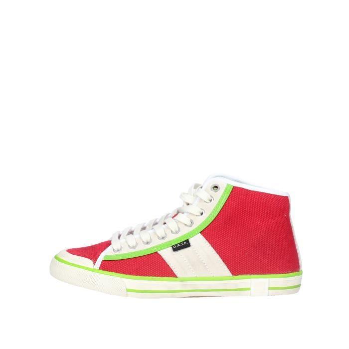D.a.t.e. Sneakers Femme Rouge, 41