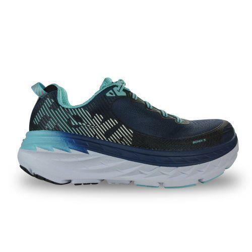 5b7afffbbda28 HOKA ONE ONE - Chaussure femme Bondi 5 Wide Hoka One One - (Marine ...
