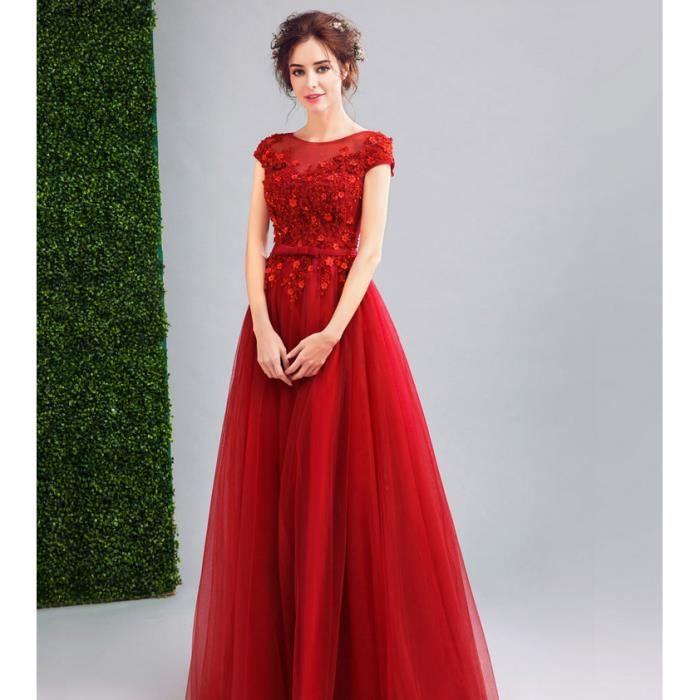 Robe longue femmes pour c r monie mariage cocktail soir e for Nettoyage de robe de mariage milwaukee