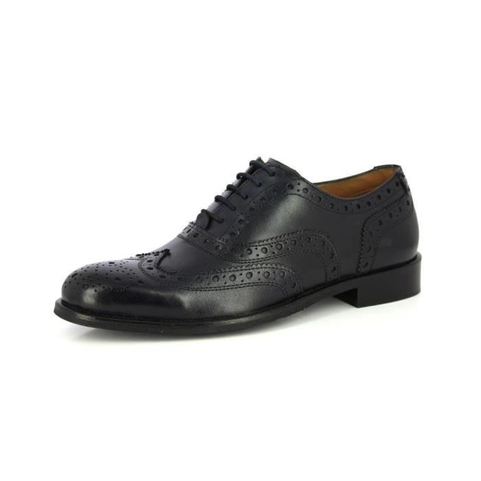 Alberto Torresi Geniune main classique en cuir lacets Brogue Robe Oxford Wisky Brown Chaussures formelles VWYPA Taille-42 7Cos2ml