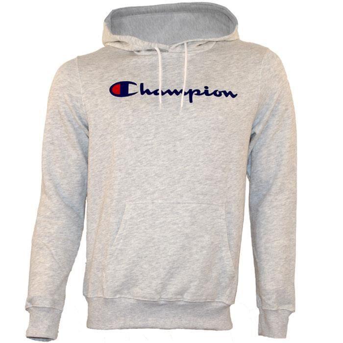 SWEATSHIRT Sweat CHAMPION homme S7H7C9P044 gris clair. La Boutique des  Marques ... de851ecc6a9d