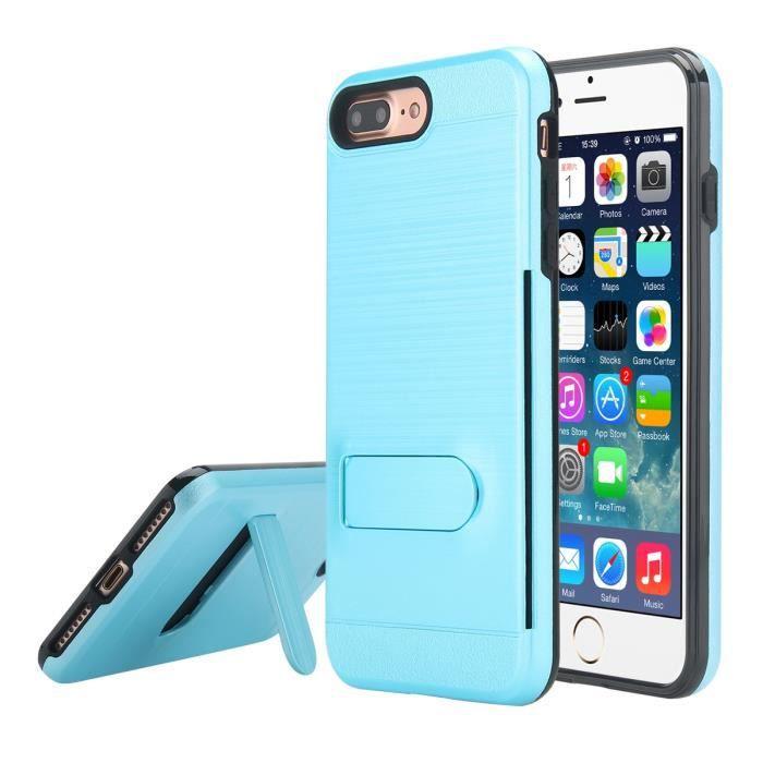 coque iphone 7 plus bleu turquoise