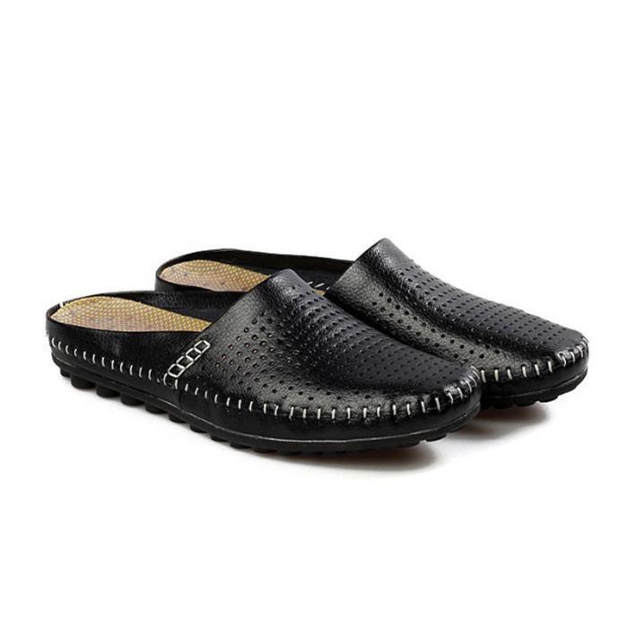 Confortable Hommes Eté Chaussures Imperméable Pantoufles Sandales Chaussures Respirante aNksX