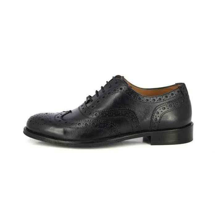 Alberto Torresi Geniune main classique en cuir lacets Brogue Robe Oxford Wisky Brown Chaussures formelles VWYPA Taille-42 L46fP0FI