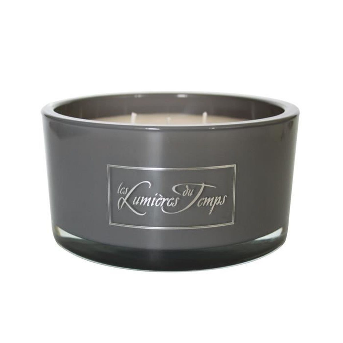Bougie Luxe Ronde Mm Anthracyte Cachemire Achat Vente Bougie