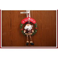 VILLAGE - MANÈGE Décoration de Noël Noël guirlande de porte Décorat