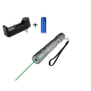 POINTEUR Ultra Powerfull Pointeur Laser Gris Stroboscope 1m