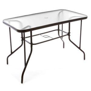 Table jardin avec trou parasol - Achat / Vente Table jardin avec ...
