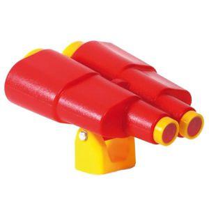 BALANÇOIRE - PORTIQUE Jumelles en jouet Rouge et jaune Swing King