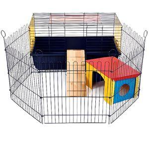 CAGE Little Friends Rabbit 80 Cage d'intérieur pour lap