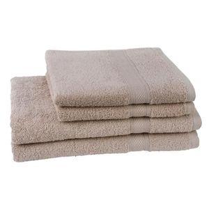 PARURE DE BAIN JULES CLARYSSE  Lot de 2 serviettes + 2 draps de b