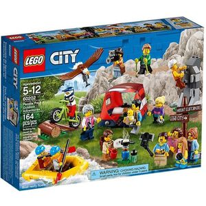 ASSEMBLAGE CONSTRUCTION LEGO® City 60202  Les Aventures En Plein Air