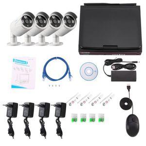camera de surveillance sans fil exterieur avec ecran. Black Bedroom Furniture Sets. Home Design Ideas