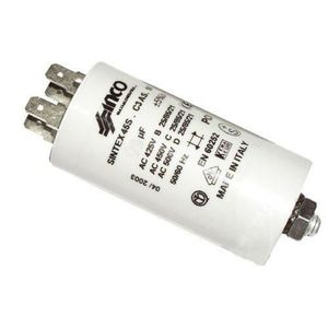 PIÈCE LAVAGE-SÉCHAGE  Condensateur 4µF de démarrage - Réfrigérateur, con