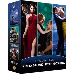 DVD FILM Coffret de film Emma Stone et Ryan Gosling - En DV