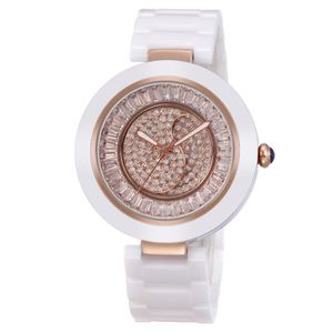 MONTRE Ceramic Women Watches Luxury High Quality Water Re