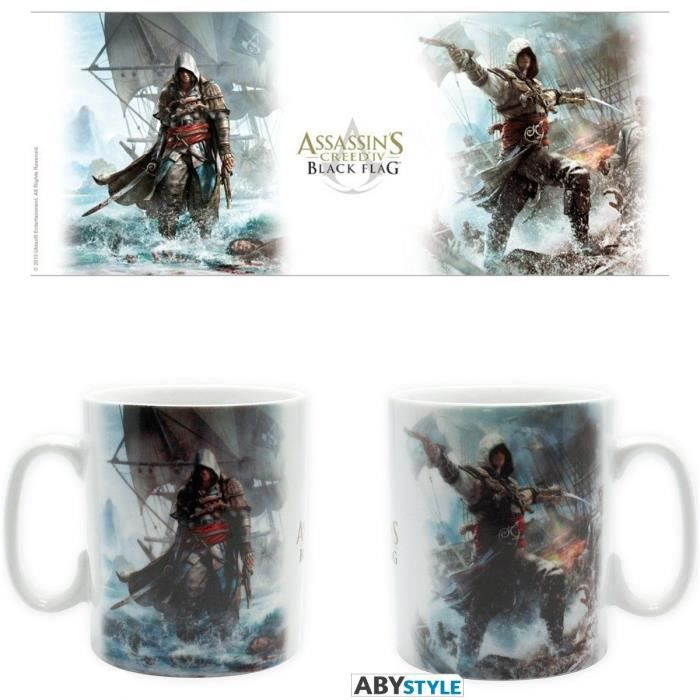 ABYSTYLE Mug Assassin'S Creed 4: Capitaine Pirate
