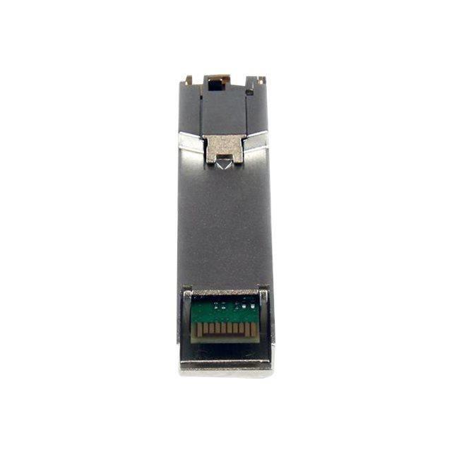 STARTECH.COM Module de transcepteur SFP Gigabit RJ45 - En cuivre compatible Cisco SFP-GE-T - Mini-GBIC avec DDM