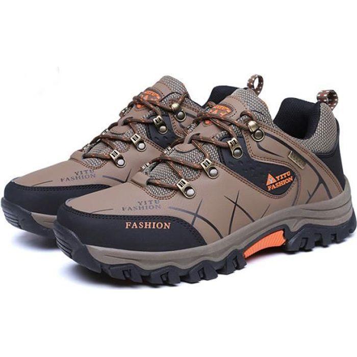 7f2feba161a Jungle Chaussures Homme Marche Randonnée Marche Respirant Quotidien Sport  UP-2