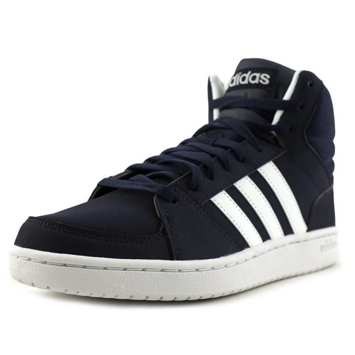 Achat Mid Hommes Vs Adidas Bleu Synthétique Hoops Baskets 4qfST0