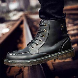 JOZSI Bottine Homme Comfortable Classique Chaussure Hommes DTG-XZ218Noir39 HRtlhEzy8