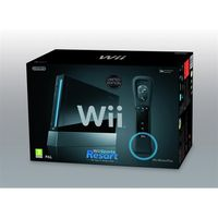 CONSOLE WII CONSOLE Wii NOIRE SPORTS RESORT