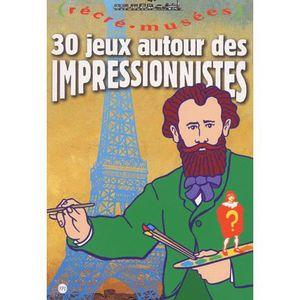 Livre 6-9 ANS 30 jeux autour des impressionnistes