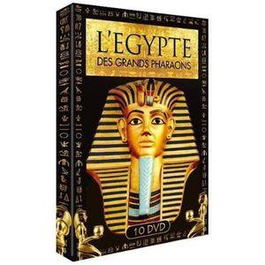 DVD FILM L'Egypte des Grands Pharaons Coffret 10 DVD
