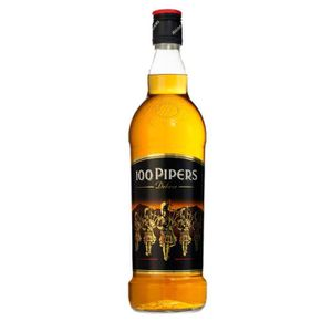 WHISKY BOURBON SCOTCH 100 Pipers 1L