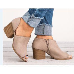 2018 grande taille européenne et américaine poisson bouche chaussures nues et bottines dans les chaussures à talons bas chaussur gSpNG