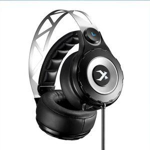 CASQUE AVEC MICROPHONE Xiberia T18 Casque Gaming Headset anti-bruit pour